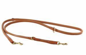 Hundeleine Leder Classic-Line
